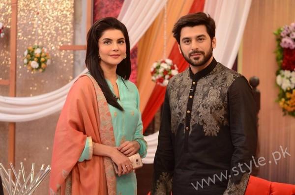 Kon Bane Gi Humayun Asraf Ki Dulhan Special Show in Good Morning Pakistan (4)