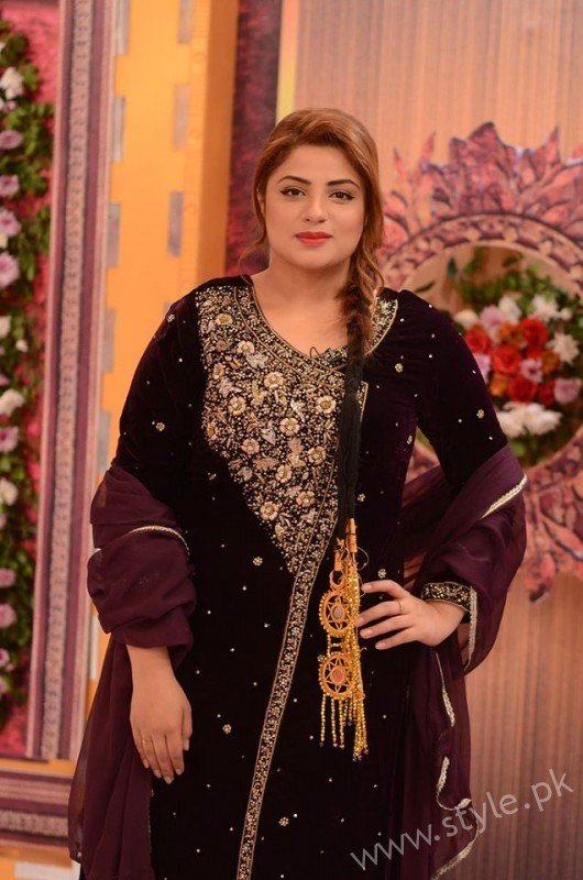 Kon Bane Gi Humayun Asraf Ki Dulhan Special Show in Good Morning Pakistan (8)