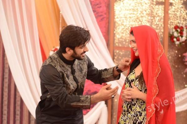 Kon Bane Gi Humayun Asraf Ki Dulhan Special Show in Good Morning Pakistan (9)