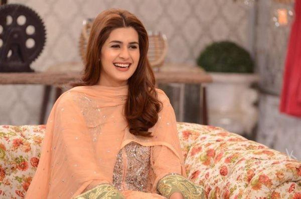Kubra khan in Nida Yasir Good Morning Pakistan Show