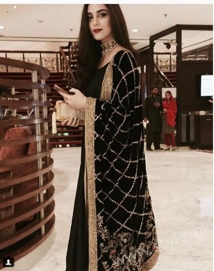 Maya Ali Aiman Muneeb Engagement (12)