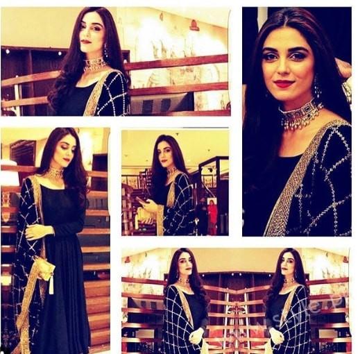 Maya Ali Aiman Muneeb Engagement (7)