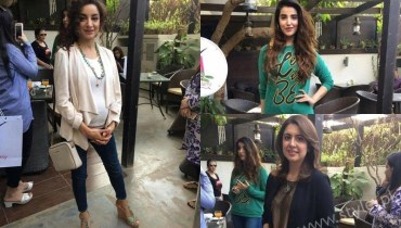 Miss Veet Pakistan 2017 Lunch