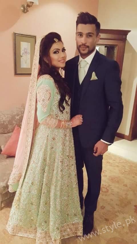Muhammad Amir- Pakistani Celebrities Marriages in 2016