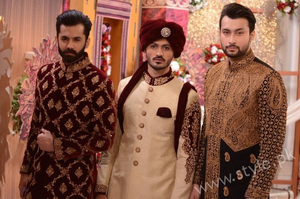 Pakistani Bride's and Groom's Fashion Trends (15)