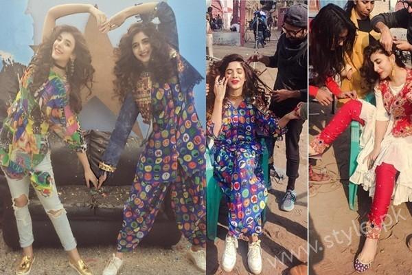 Urwa Hocane and Mawra Hocane's Photoshoot for Rang Ja (13)