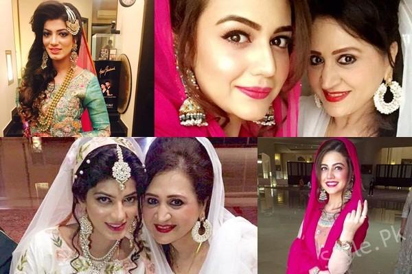 See Asma Abbas Son Wedding Pictures