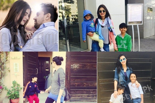 See Hira and Mani Family Pictures - Hira Mani Kids pictures