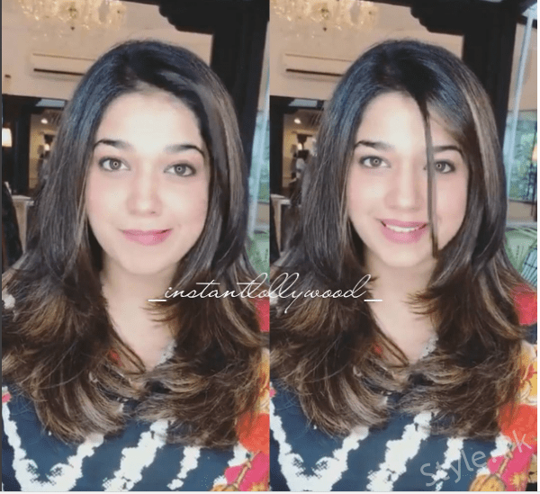 Gorgeous Sanam Jung Spotted at Nabila Salon