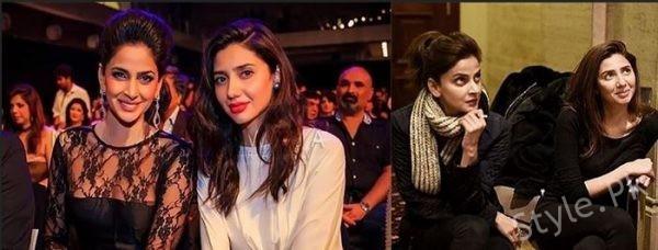 See Mahira Khan broke her silence on being compared with Saba Qamar