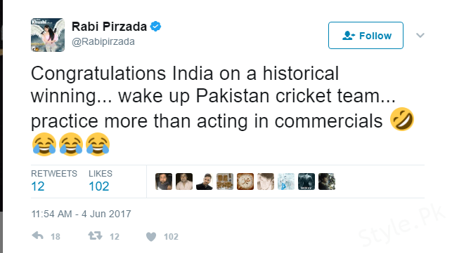 Rabi Pirzada Brutually Slams Pakistani Cricketers For Preferring TVCs Over Cricket!