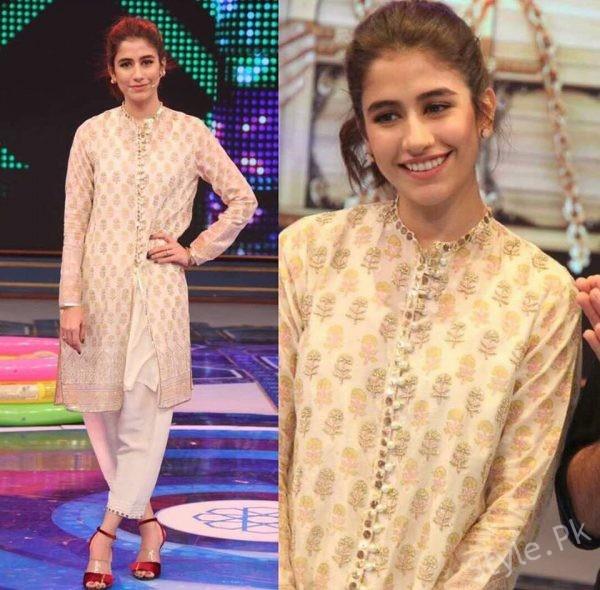 See Syra Shehroz looks stunning in Geo Khelo Pakistan