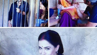 See Humaima Malik during Shooting of her Bollywood Movie with Sanjay Dutt