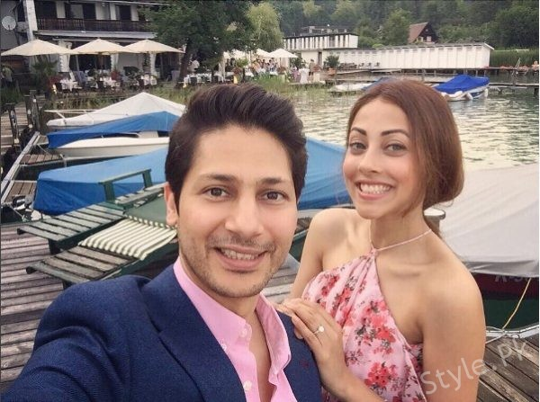 See Ainy Jaffri Spending Quality Time with her Husband in Austria