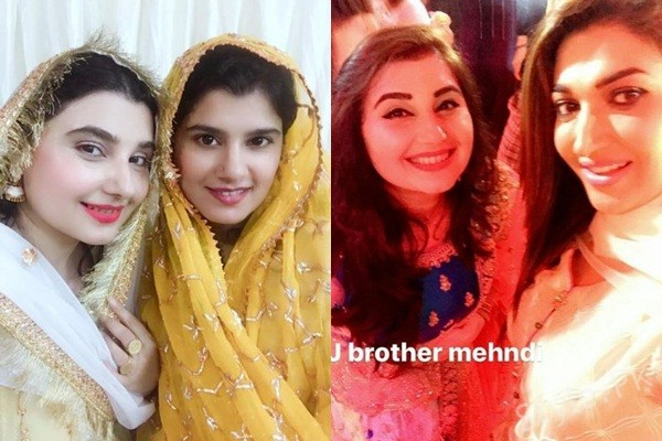 See Celebrities at Javeria Saud's brother MehndiCelebrities at Javeria Saud's brother Mehndi