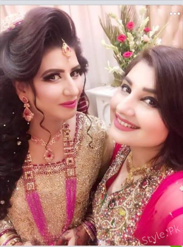 See Javeria Saud's Sister on her Reception