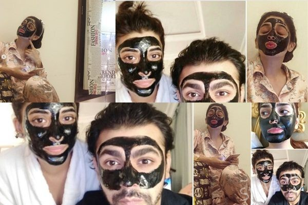 See Pakistani Celebrities spotted in Blackhead Charcoal Mask