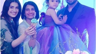 See Hoorain Taimoor's Second Birthday Celebration
