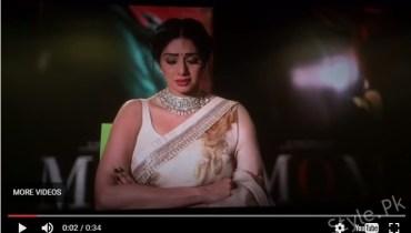 See Sridevi cries for Sajal Ali at Premier of MOM Sridevi cries for Sajal Ali at Premier of MOM