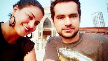 See Veena Malik having Quality Time with Family in Dubai