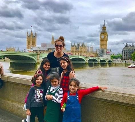 See Nimra Khan Vacationing in London