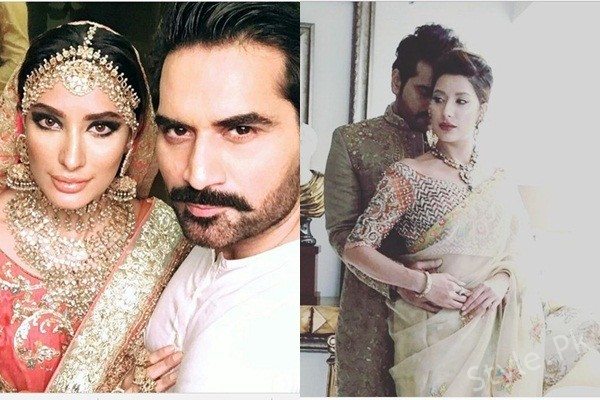 See Humayun Saeed and Mehwish Hayat's Pictures are Ruling our Hearts