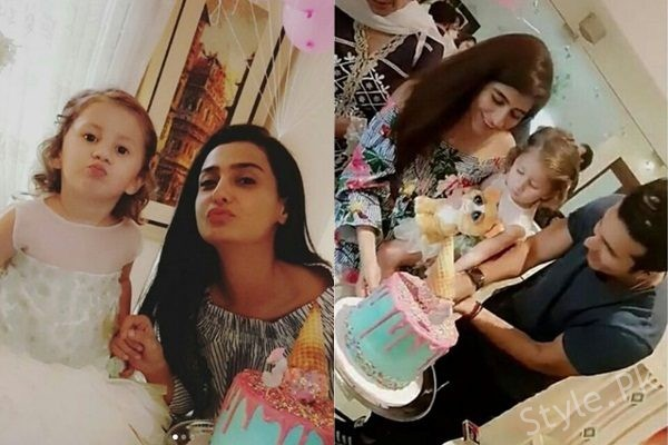 See Syra Shehroz and Shehroz Sabzwari Celebrated their daughter 3rd Birthday