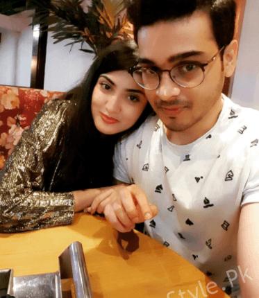 Gorgeous Aleezay Tahir With Her Fiance