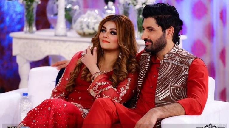 Super Star Syed Jibran Beautiful Picture With His Wife Afifa