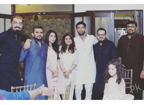 Fahad Mustafa Recent New Clicks With His Family