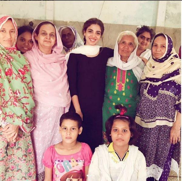 See Sonya Hussain Celebrated her Birthday at Edhi Foundation