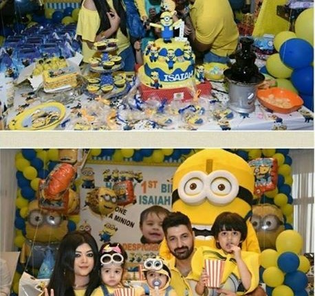 See Syed Jibran Celebrated His Son's First Birthday