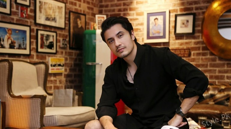 see Ali Zafar New Face as a Poet!