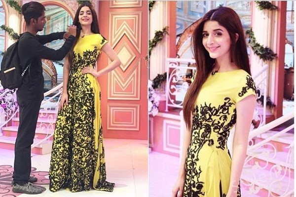 See Mawra Hocane Looks Beautiful in this HSY Outfit