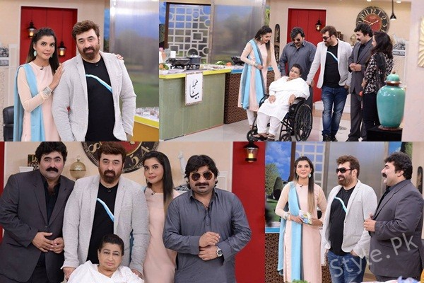 See Nida Yasir with her in Laws in Good Morning Pakistan