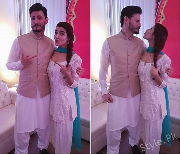 See Osman Khalid Butt and Hareem Farooq's Pout Game
