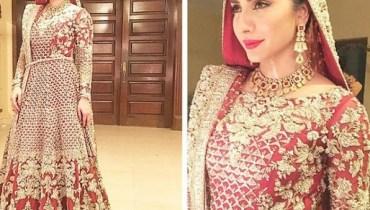 See Uzma Khan on the Set of her drama Adhi Gawahi