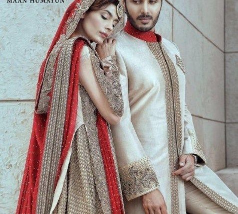 See Handsome Hunk Ahsan khan's Photoshoot with Amna Babar