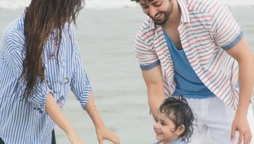 See Ayeza Khan and Danish Taimoor's latest Family Photoshoot