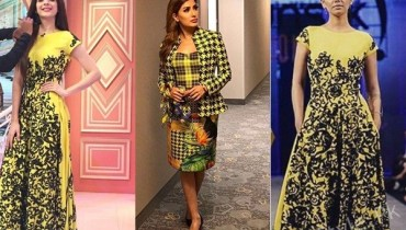 See The combo of Yellow and Black is trending high