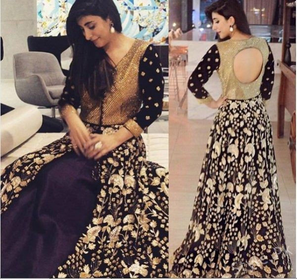 See Urwa Hocane in Manish Malhotra outfit in Chicago