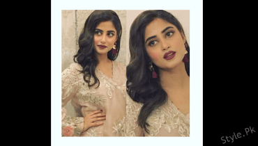 see Picture of the Cutie Sajal Ali Wearing Elan Dress!