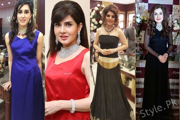 See Celebrities at Damas Store Launch Happening Now