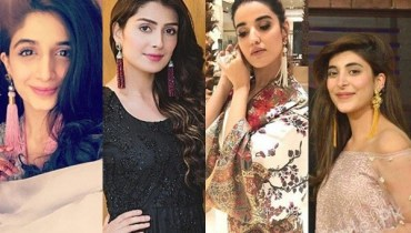 See Pakistani Celebrities in Tassel Earrings