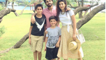 see Urwa Hocane's Picture with her Hubby and Nephews in USA!