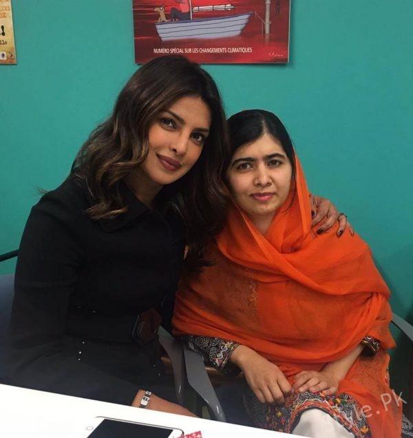 See Priyanka Chopra met Malala Yousufzai