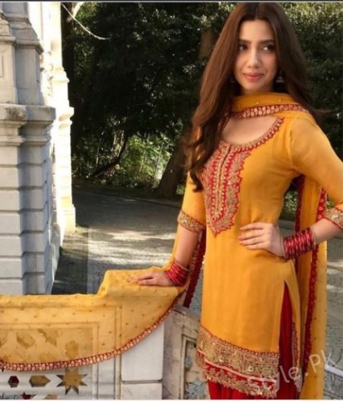 Mahira Khan In A Turkey For A Commercial Shoot