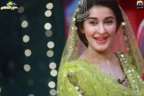 Beautiful Clicks Of Shiasta Lodhi From Geo Subah Pakistan