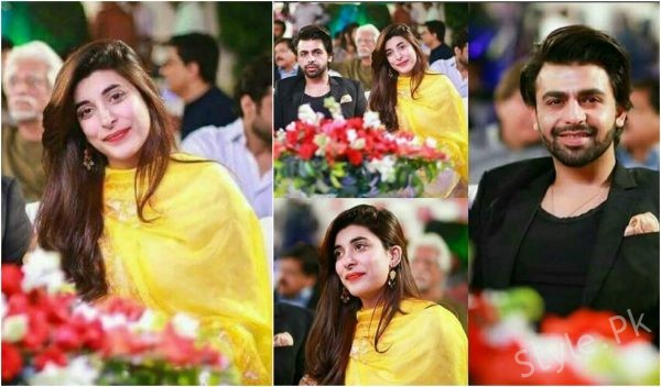Farhan Saeed And Urwa Hocane Spotted At An Event