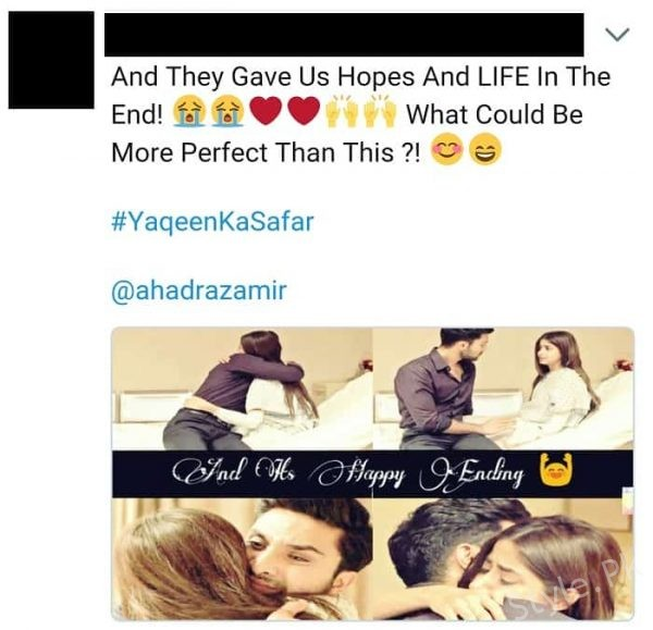 Yakeen Ka SafrHas Ended And Fans Are Sad